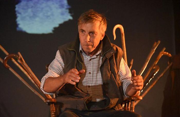 Llion Williams in the Stick-Maker Tales at Pavilion Mid Wales, Llandrindod Wells