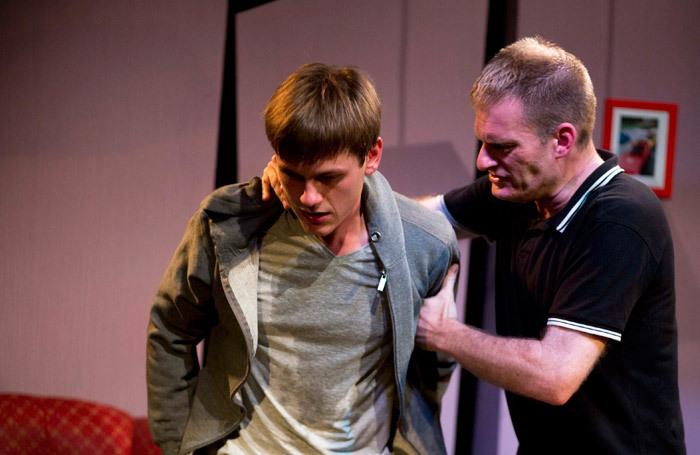 Hugh Train and Robert Walters in Fat Jewels at Hope Theatre. Photo: Laura Harling