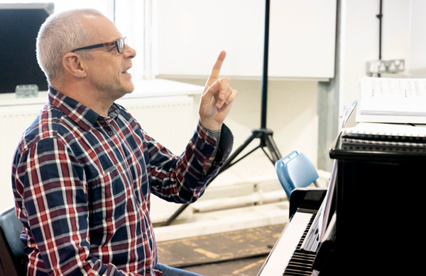 Musical director Gareth Valentine: 'The more energy you give out in the pit, the more you'll get back'