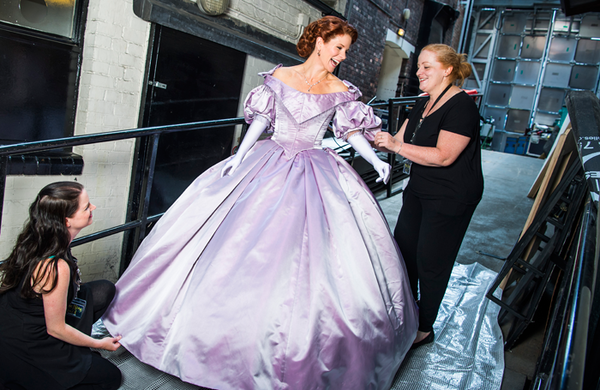 In pictures: Backstage with Kelli O'Hara at the King and I