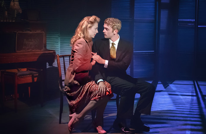 Kelly Price and Felix Mosse in Aspects of Love at Hope Mill Theatre, Manchester. Photo: Anthony Robling