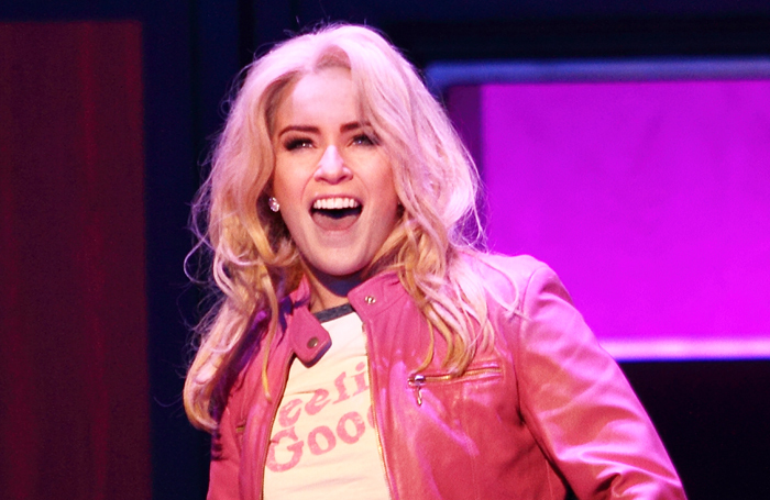 Lucie Jones in Legally Blonde at Leicester Curve in 2016. Stage adaptations of hit books and films outsell original works by nearly five times on average, a report claims. Photo: Catherine Ashmore