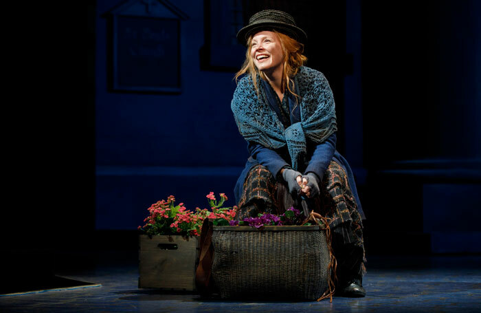 Lauren Ambrose as Eliza Doolittle in My Fair Lady at the Lincoln Center – the production emphasises Doolittle's determination and independence. Photo: Joan Marcus