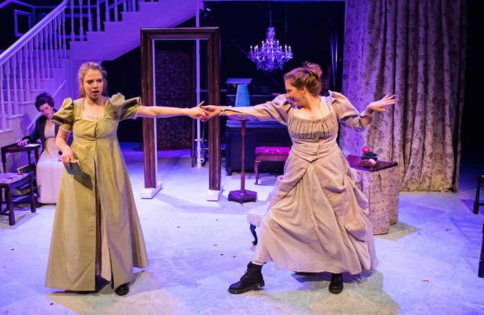 Meghan Tyler and Hannah Jarrett Scott in Pride and Prejudice (Sort Of). Photo: John Johnston