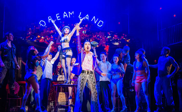 The recent West End production of Miss Saigon, one of the musicals orchestrated by Bill Brohn. Photo: Tristram Kenton