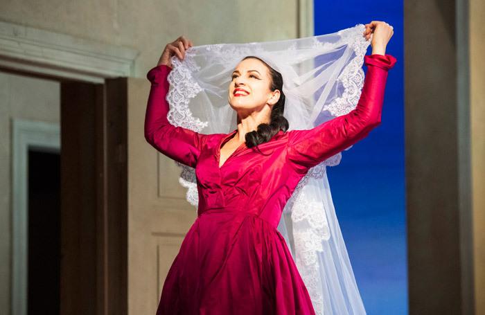 Madeleine Pierard in Idomeneo at Buxton Opera House. Photo: Richard Hubert Smith