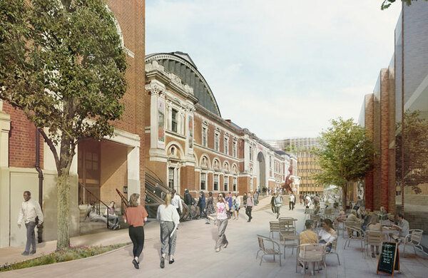 London's Olympia exhibition centre to add 1,500-seat theatre in £700m 'creative hub' plans