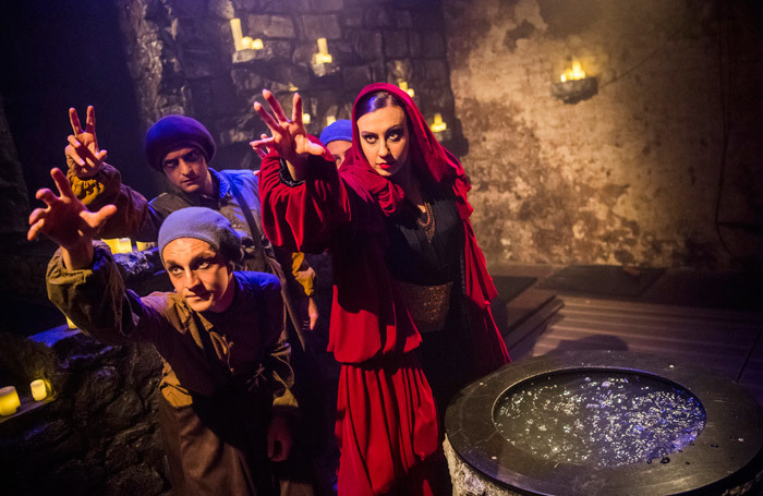 The cast of Sounds and Sorcery - Celebrating Disney Fantasia at the Vaults, London. Photo: Tristram Kenton