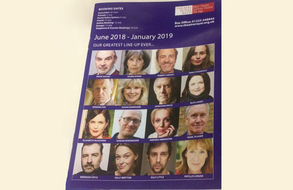 Theatre Royal Bath blasted for all-white season brochure