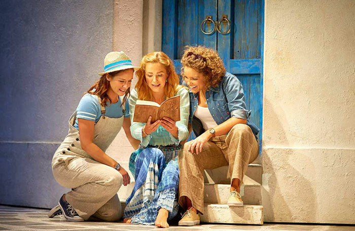 The West End Production of Mamma Mia! at the Novello Theatre Photo: Brinkhoff/Mögenburg