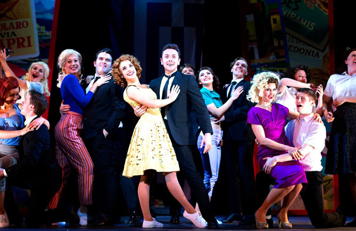 Ray Quinn and the cast of Summer Holiday at Theatre Royal Brighton