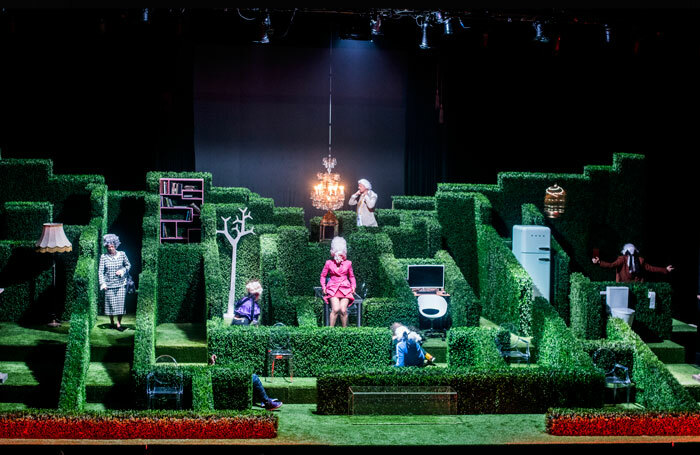 Oskaras Korsunovas' Tartuffe at Avignon festival. Photo: D Matvejev