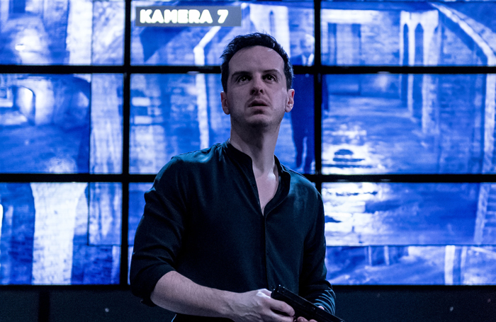 Andrew Scott in Hamlet, recently broadcast by the BBC. Photo: Manuel Harlan