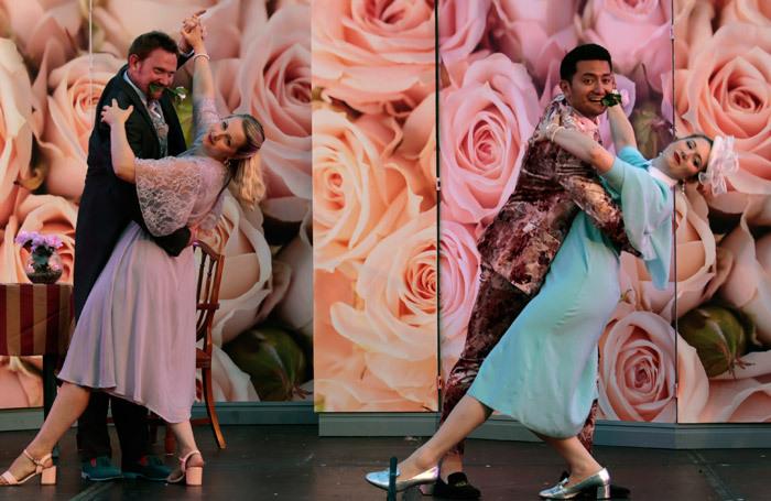 Scene from Cinderella at Bampton Classical Opera