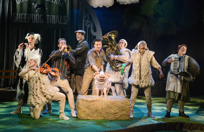 Babe, the Sheep-Pig at Mercury Theatre, Colchester. Photo: Robert Day