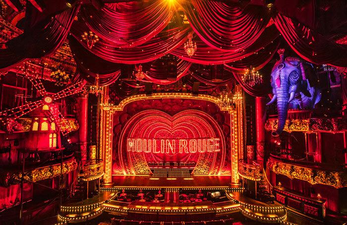 Moulin Rouge! set designed by Derek McLane. Photo: Matthew Murphy