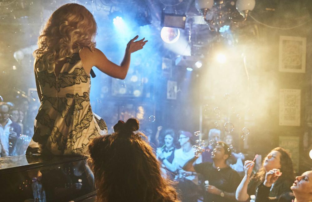 A performance at Phoenix Artist Club