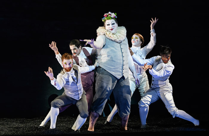 The cast of Saul at Glyndebourne, Lewes. Photo: Bill Cooper