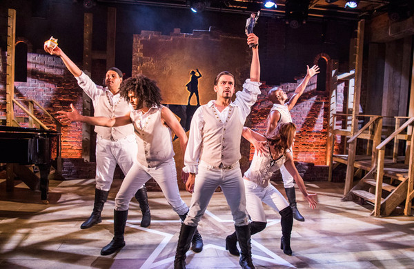 Spamilton review – 'a patchy parody of the Lin-Manuel Miranda musical'