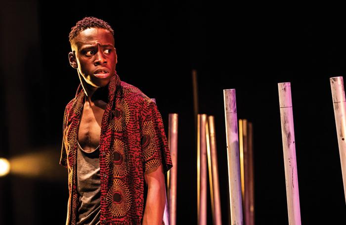 Michael Ajao in The Fisherman. Photo: Pamela Raith