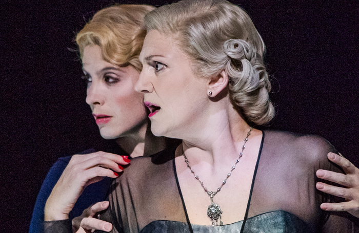 Virginie Verrez and Emma Bell in Vanessa at Glyndebourne. Photo: Tristram Kenton