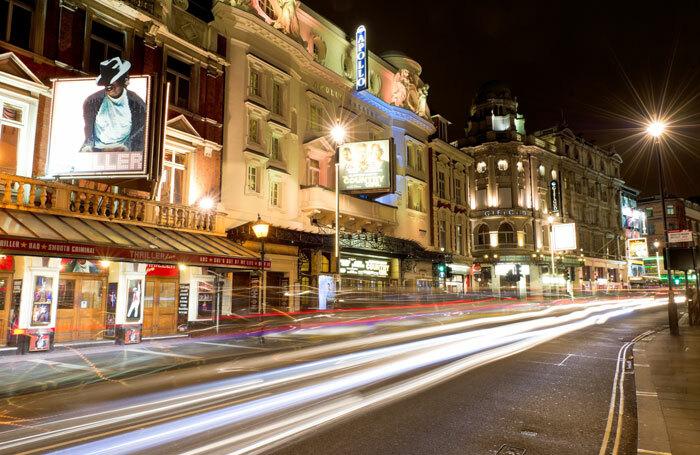 London's West End. Photo: Alex Brenner
