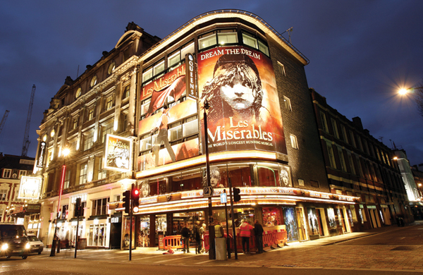 Les Miserables to leave West End home as venue undergoes renovation