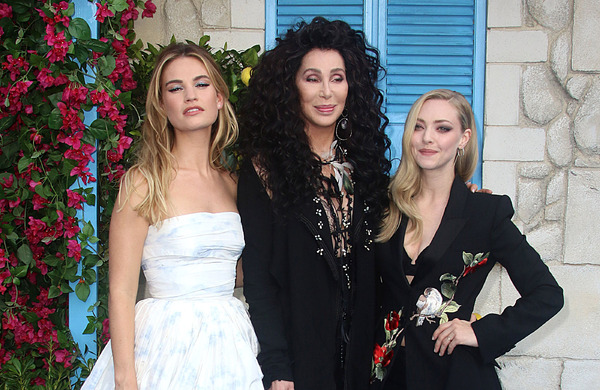 Diary: In Mamma Mia! – Here We Go Again, Cher turns back time...
