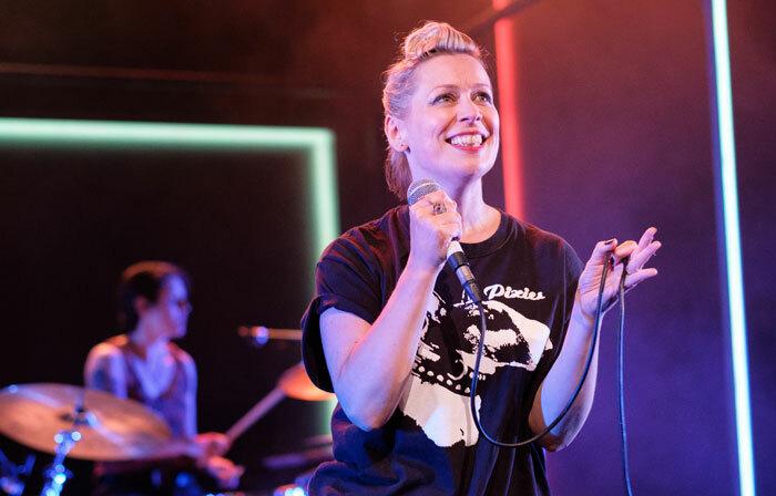 Cora Bissett in What Girls Are Made Of at Traverse Theatre, Edinburgh. Photo: Sid Scott