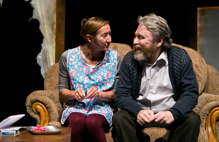 Pauline Knowles and George Docherty in After the Cuts by Gary McNair at Summerhall, Edinburgh. Photo: Eoin Carey