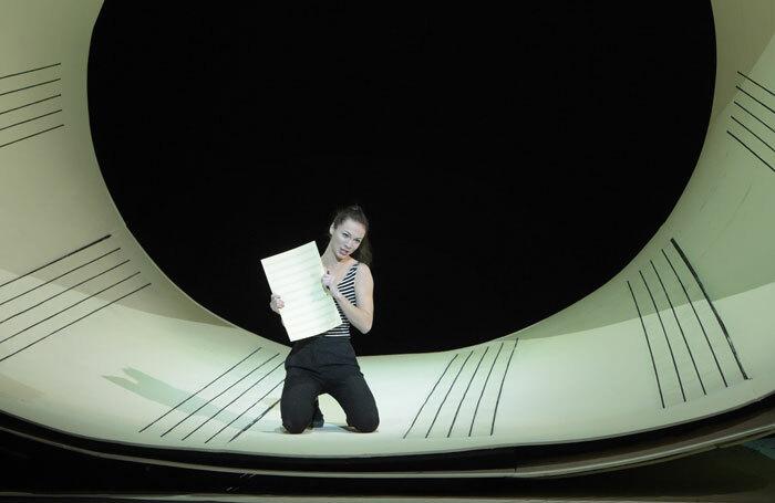 Catherine Trottmann in The Barber of Seville at Festival Theatre, Edinburgh. Photo: Vincent Pontet