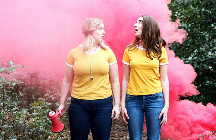 Emilia Stawicki and Betty Jane Walsh in Camp Be Yourself at Underbelly Cowgate, Edinburgh