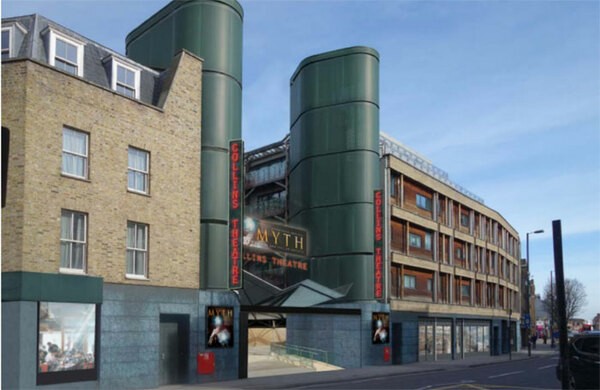 Unused Islington theatre submits further plans to reduce venue size