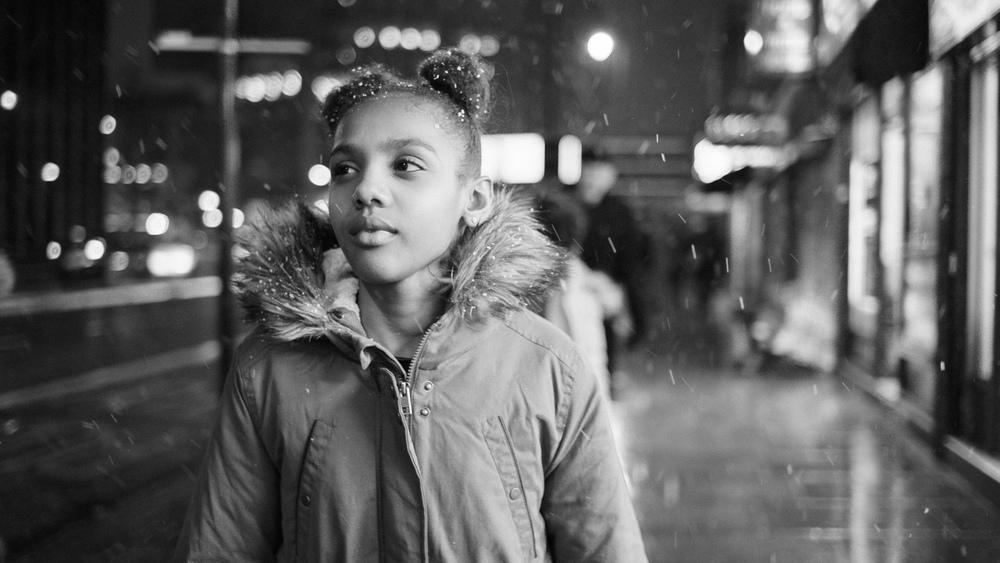 Kara-Leah Fernandes Pascal in Debbie Tucker Green's short film Swirl