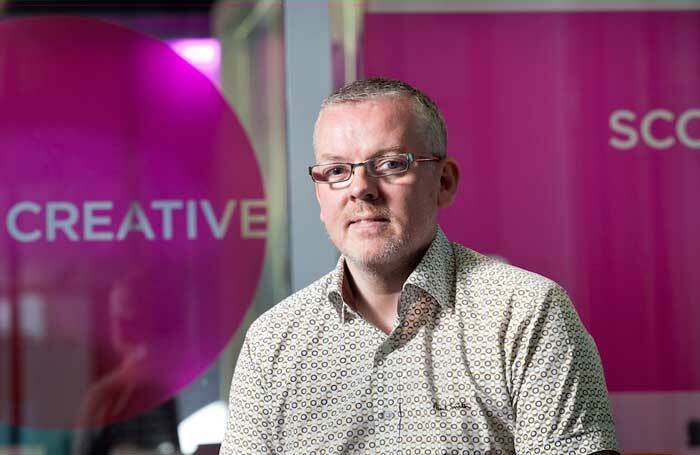 Creative Scotland acting chief executive Iain Munro. Photo: Drew Farrell