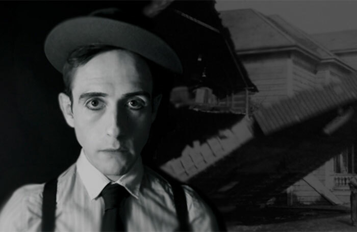 James Dangerfield as Buster Keaton at the Pleasance Courtyard