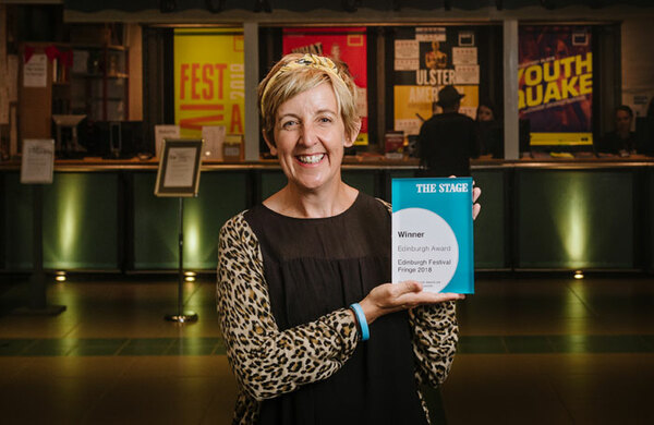 Julie Hesmondhalgh is first winner of The Stage Edinburgh Awards 2018