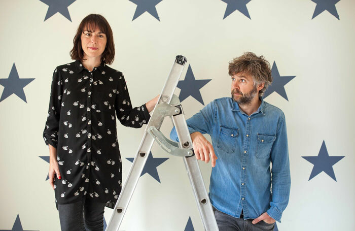 Helen Rutter and Rob Rouse in The Ladder
