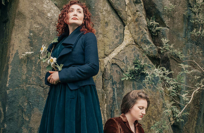 Lori Flanagan and Lydia Davidson in Armour: A Herstory of the Scottish Bard