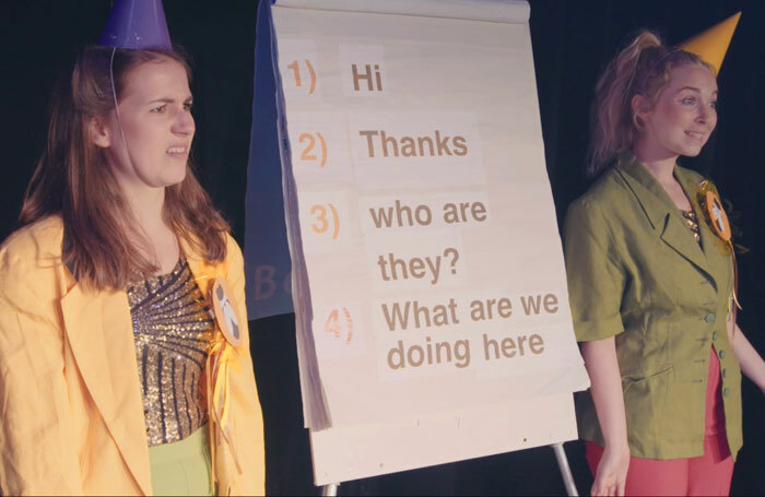 Josie Dale-Jones and Greta Mitchell in Me and My Bee
