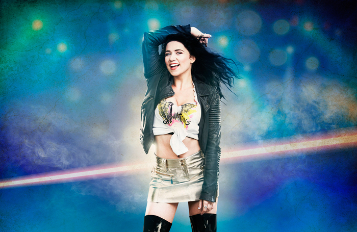 Danielle Hope will appear in Rock of Ages for the first two months of the tour
