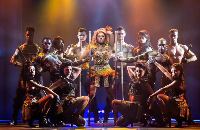 Alexandra Burke in The Bodyguard. Photo: Paul Coltas