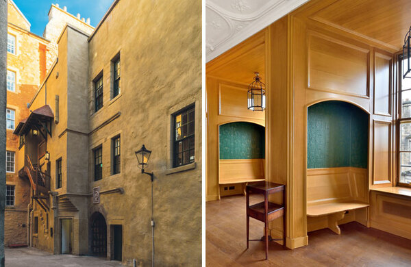 Riddle's Court: the venerable Edinburgh townhouse that became a hotbed of fringe talent
