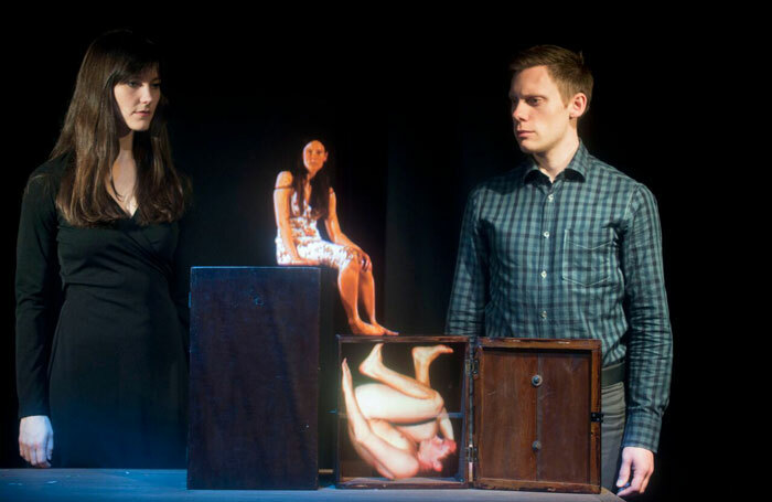 Sarah Thom and Francois Testory in  Toujours et Pres de Moi at Assembly Roxy, Edinburgh