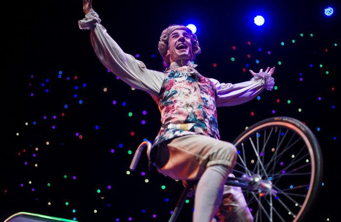 Circa: Wolfgang at Underbelly Circus Hub, Edinburgh. Photo: Dylan Evans