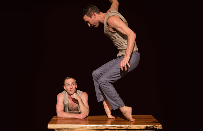 Jesse Scott and Lachlan McAulay in You and I at Assembly, Roxy, Edinburgh