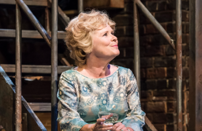 Imelda Staunton in Follies – which has been nominated in the musicals category. Photo: Johan Persson