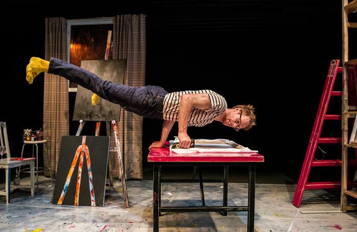 Thom Monckton in The Artist at Assembly Roxy, Edinburgh. Photo: Antti Saukko