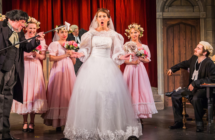 A scene from National Gilbert and Sullivan Opera Company's Trial by Jury.  Photo: DJ Stotty Images