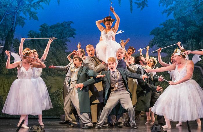 Scene from Iolanthe at Royal Hall, Harrogate. Photo: Jane Stokes